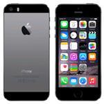 iPhone 5S 4G 64GB 4in iOS Black - Renewed with 2 yr Warranty, cable & adapter