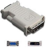 Adapter DVI-IM / VGA F