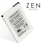 Zen Micro Battery