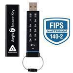 Aegis Secure Key / USB 2.0 Flash Drive 256bit Aes FIPS Validated 16GB