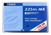 Data Cartridge - 60/150GB 8mm 225m AME with SmartClean For Mammoth 2