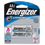 High Energy Lithium Aa Battery 2pk