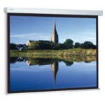 Projection Screen Compact  Rf Electrol 153x200 Cm Mat White S