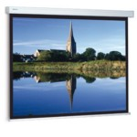 Projection Screen Compact  Rf Electrol 240x240 Cm Mat White S
