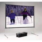 Fast-fold Deluxe Screen System 6x8ft Dual Vision