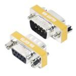 Gender Changer Db9m/db9f - Mini Null Modem Adapter