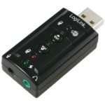 USB Soundcard With Virtual 7.1 Soundeffects