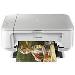 Multifunction Photo Inkjet Printer Pixma Mg3650 A4 10ppm Auto Duplex 2400x1200 Dpi USB Wifi White