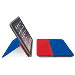 Logitech Anyangle Protective Case With Any-angle Stand For iPad - Blue & Red