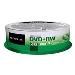 Dvd+rw Media 4.7GB 4x 25pk Spindle