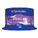 Dvd+r Media 4.7GB 16x Matt Silver 50-pk With Spindle