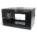 Wallmount Server Rack Cabinet With Acrylic Door 6u 19in