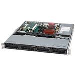 Superchassis 1u Sc813mtq-350cb 4x 3.5in Hot-swap SAS / SATA Drive Bays 350w Black