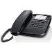 Gigaset Da310 Corded Desk Phone Black