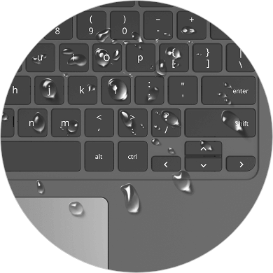 Buy Acer Chromebooks which has a spill resistant keyboard from Redcorp