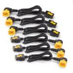 Apc Power Cord Kit (6 Ea)/ Locking/ C19 To C20 (90 Degree) - 0.6m
