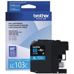 Ink Cartridge Cyan 600 Pages (lc103c)