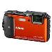 Digital Camera Coolpix Aw130 Rugged 16.0 Mpix 5x Op 4x Digital Zoom 3in Oled Wifi Orange + Sd 4GB