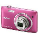 Digital Camera Coolpix S3500 20.1 Mpix 7x Op Zoom 4x Digital Zoom 2.7LCD Pink