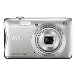 Bundle / Digital Camera Coolpix S3700 20.1 Mpix 8x Op Zoom 4x Digital Zoom 2.7LCD Silver + Sd 4GB