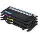 Rainbow Toner Kit 1.5k Pages C/m/y/k (clt-p4072c/els)