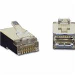 Shielded Cat5 Rj45 Modular Plug For Round Solid Cable 10-pk