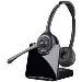 Wireless Headset Cs520 Over-the-head Binaural Euro Dect