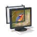 Screen Filter - Ef-200xlb Black Frame  Anti-glare/ Radi Crts=>16in-19in LCDs=>17in-18in