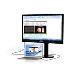 Monitor LCD 21.5in 221s6quMB 1920x1080 LED Backlit