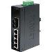 Industrial Switch Ip30 Slim Type 4-port + 1xfx 15km