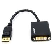 Displayport To DVI Video Ad/ Converter Cable