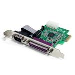 PCI-e Parallel Serial Combo Card With 16950 Uart