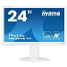 LCD Monitor 23.6in Prolite B2480HS-W1/ TN, led-Backlit, Full HD 1080p, 16:9, 2ms, 1000:1 - White