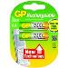 Gp Batteries Rechargeable Aa Mignon Nimh 1300 1.2v/ 2bat