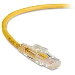 Gigatrue 3 Cat6 550-MHz Lockable Patch Cable Yellow 3m