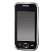 Mobile Phone Cover Crystal for Samsung Wave 525 - Transparent
