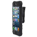Zcover Healthgrade Black Rugg Silicone Case For iPhone 5 (IPHONE5-APP5AHNK)