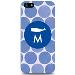iPhone 5 Case Dots Blue Whale- M