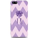iPhone 5 Case Zig/zag Purple Octopus- U