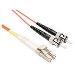 Fiber Optic Patch Cable 500m Lc-st 62.5 125 Multimode Duplex Plenum Orange