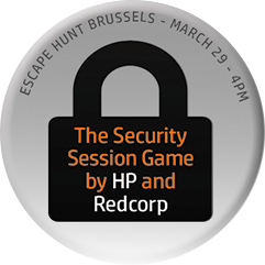 The Security Session Game by HP and Redcorp