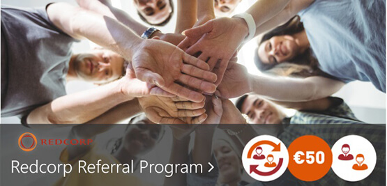 Redcorp Referal Program